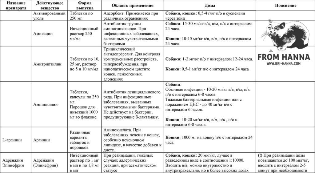 1-lekarstva-dlja-koshek-aktivirovannyi-ugol-amikasin-amitriptilin-ampisillin-arginin-adrenalin-(epinefrin)