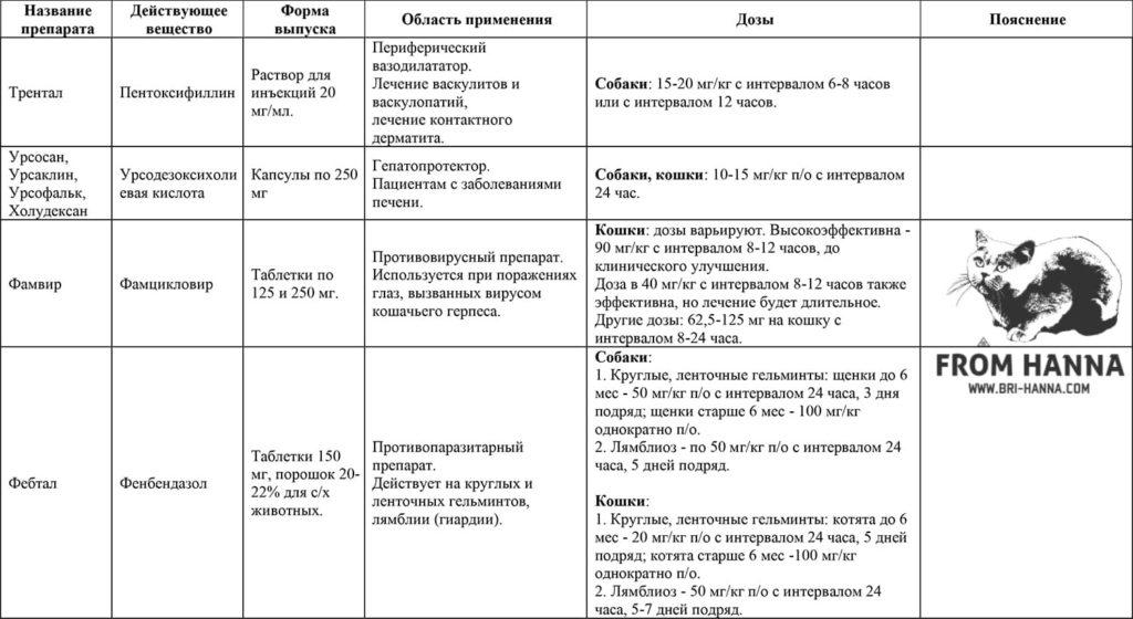 23-pentoksifillin-ursodezoksikholievaja-kislota-famsiklovir-fenbendazol